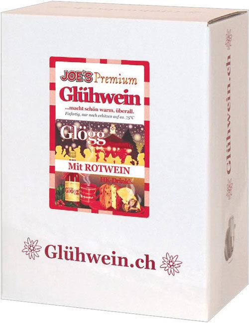 2 Liter Roter Glühwein - Joe's Premium
