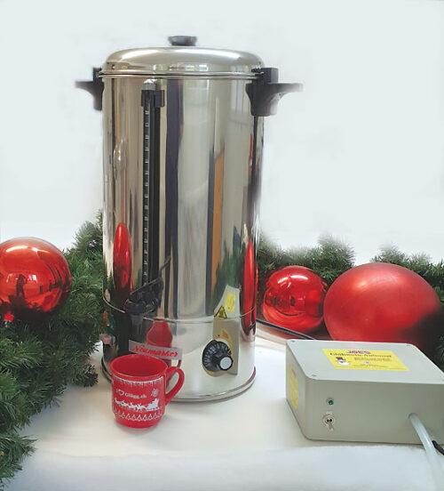 Glühwein Kochtopf mieten - Glühwein Automat